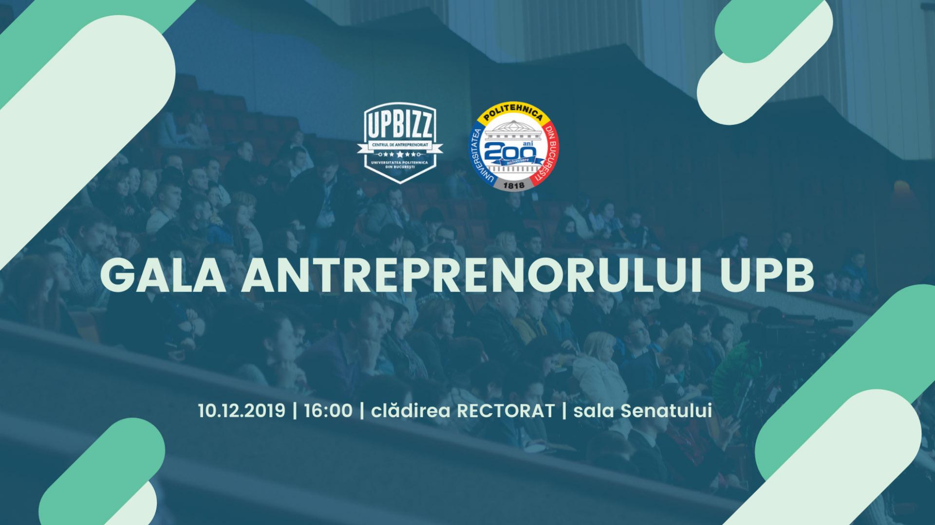 Gala Antreprenorului UPB