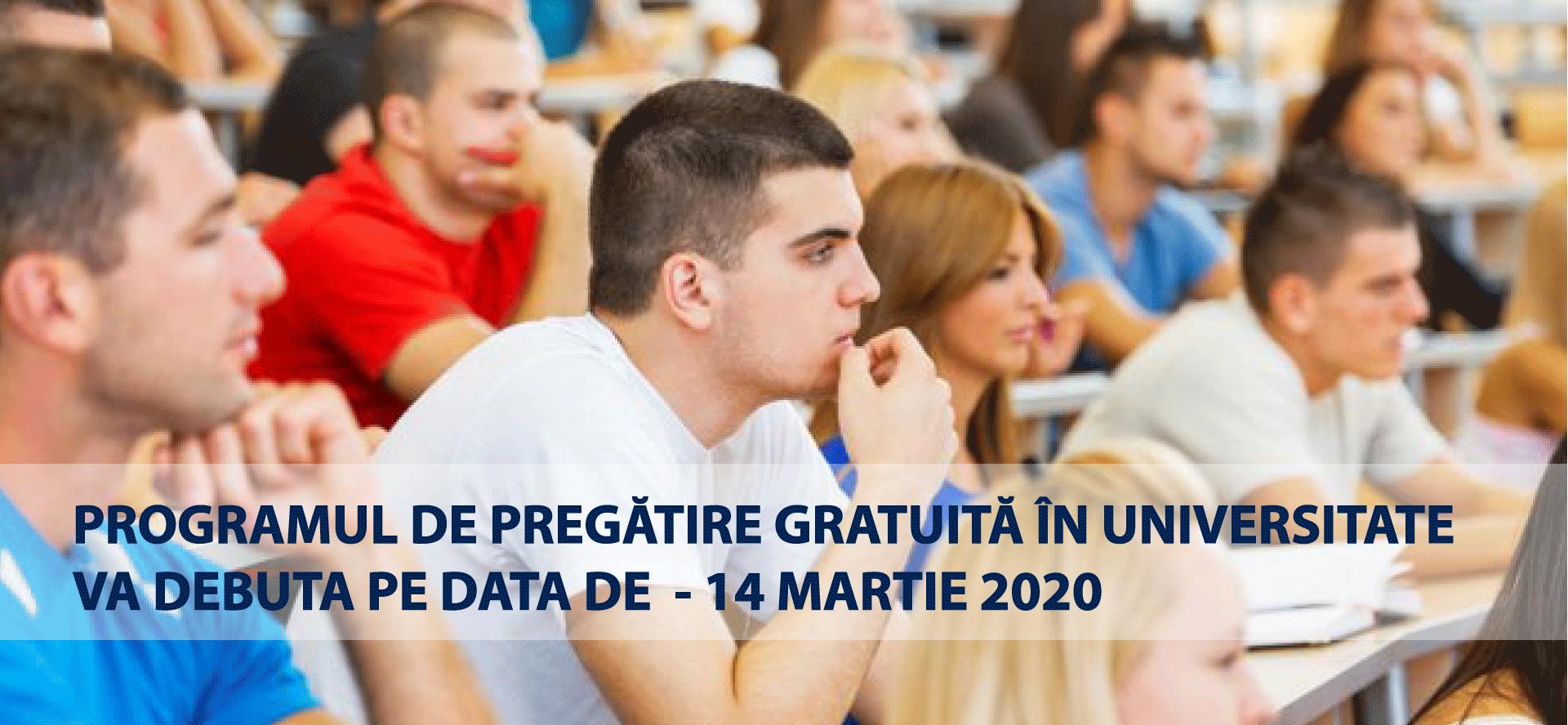 Universitatea POLITEHNICA din București anunță reînceperea cursurilor de pregătire GRATUITĂ în data de 14 Martie 2020