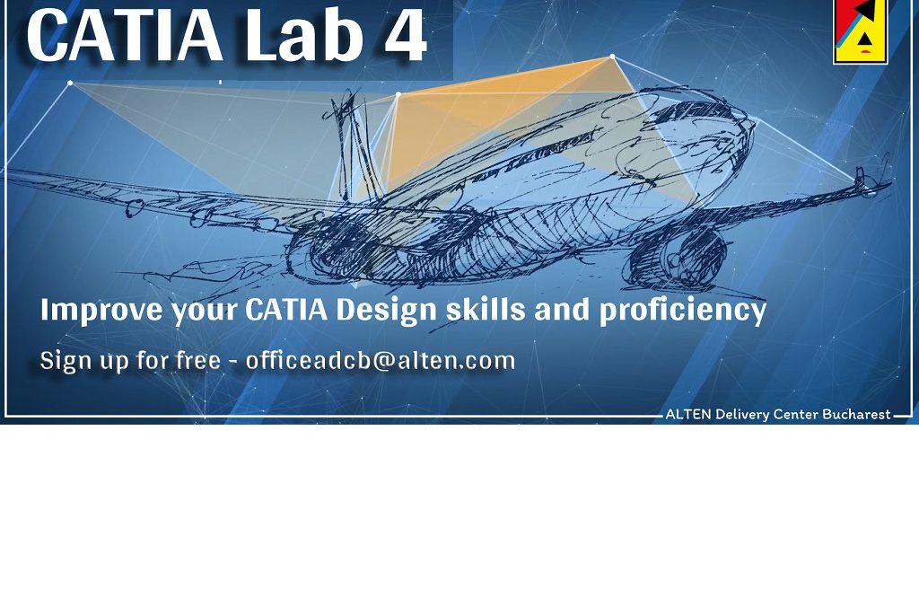CATIA Lab 4 – ALTEN Delivery Center Bucharest – Facultatea de Inginerie Aerospatiala