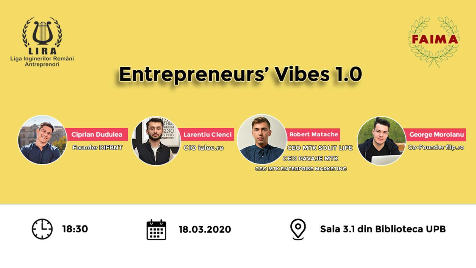 Entrepreneurs' Vibes