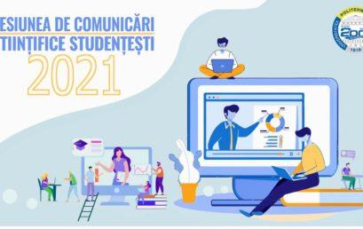 Sesiunea de Comunicări Științifice Studențești 2021 Online