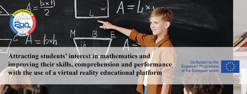 Proiectul MATHESIS– învăţăm matematica prin tehnologii VR